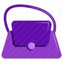 Fashionable Handbag icon
