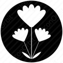 Abstract Flower Clipart icon