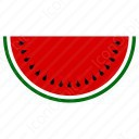 Water Mellon Cut icon