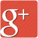 Google Plus Square Sign icon