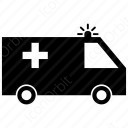 Ambulance Silhouette icon
