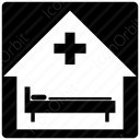 Clinic Icon square