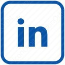 LinkedIn square icon