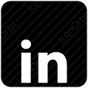 LinkedIn Square Logo icon
