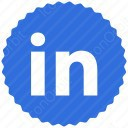 LinkedIn Badge icon