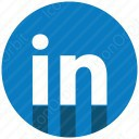 LinkedIn bottom Shadow icon