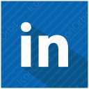 LinkedIn Shadow Icon