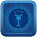 Glass Blue Icon