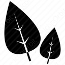 2 Black Leaves icon