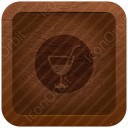 Juice Glass Circle icon