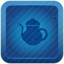 Tea Can Blue Icon