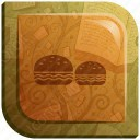 Colorful Burger Icon
