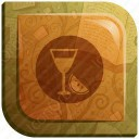 Colorful Juice Glass icon