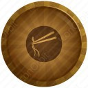 Noodles Circle Icon