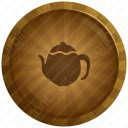 Colorful Tea Pot Icon