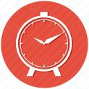 Circle Alarm Clock Icon