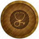Stethoscope Badge icon