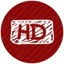 HD logo icon