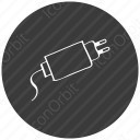 mobile charger icon