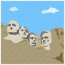 Mount Rushmore Icons