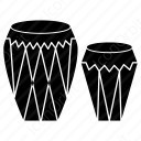 Two Drum Icon