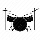 Drum Music set icon