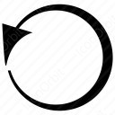 Round Arrow icon