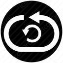 Circle Refresh Button icon