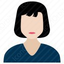Woman Administrator icon