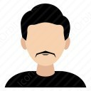 Man With Thin Mustache icon