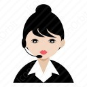 Telecaller Girl icon