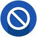 Prohibited icon