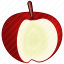 Apple cut Icon