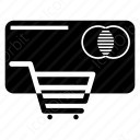 shopping cart camera icon