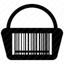 shopping cart bag icon