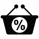 shopping percentage icon