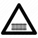 Railway Crossing icon
