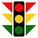 Road Signal Lights icon