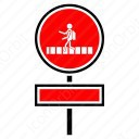 Children Road Crossing icon