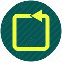 square arrow icon