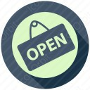 open tag icon
