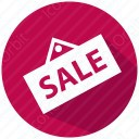 sale red tag icon