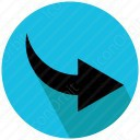 arrow black icon