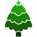 Christmas Tree Green icon