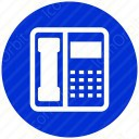 Phone with callerid icon