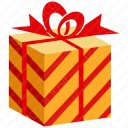 Gift Stripped Box  icon