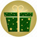 Star Packing Gift Box icon
