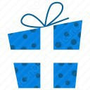 Blue Gift Box icon