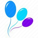 Color Balloons icon