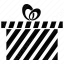 Stripped Gift Box icon